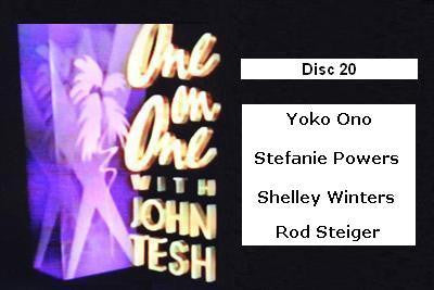 ONE ON ONE WITH JOHN TESH - DISC 20 (1991-92 NBC Daytime) - Rewatch Classic TV - 1