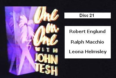 ONE ON ONE WITH JOHN TESH - DISC 21 (1991-92 NBC Daytime) - Rewatch Classic TV - 1