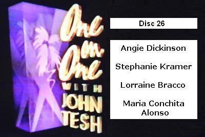 ONE ON ONE WITH JOHN TESH - DISC 26 (1991-92 NBC Daytime) - Rewatch Classic TV - 1