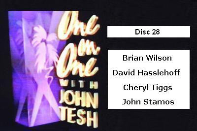 ONE ON ONE WITH JOHN TESH - DISC 28 (1991-92 NBC Daytime) - Rewatch Classic TV - 1