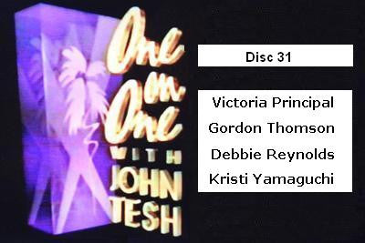 ONE ON ONE WITH JOHN TESH - DISC 31 (1991-92 NBC Daytime) - Rewatch Classic TV - 1