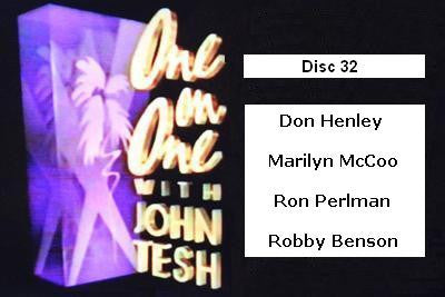 ONE ON ONE WITH JOHN TESH - DISC 32 (1991-92 NBC Daytime) - Rewatch Classic TV - 1