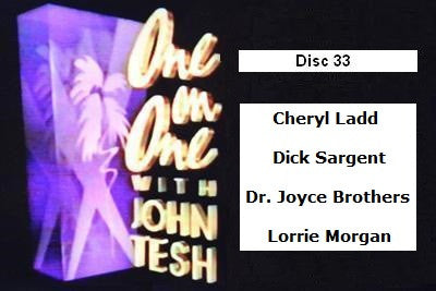 ONE ON ONE WITH JOHN TESH - DISC 33 (1991-92 NBC Daytime) - Rewatch Classic TV - 1