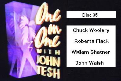 ONE ON ONE WITH JOHN TESH - DISC 35 (1991-92 NBC Daytime) - Rewatch Classic TV - 1