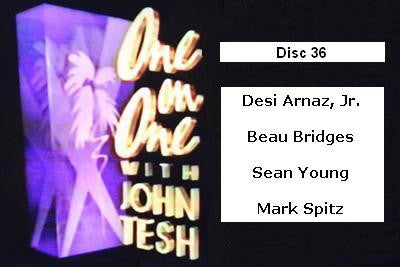 ONE ON ONE WITH JOHN TESH - DISC 36 (1991-92 NBC Daytime) - Rewatch Classic TV - 1