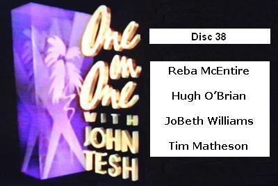 ONE ON ONE WITH JOHN TESH - DISC 38 (1991-92 NBC Daytime) - Rewatch Classic TV - 1