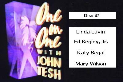 ONE ON ONE WITH JOHN TESH - DISC 47 (1991-92 NBC Daytime) - Rewatch Classic TV - 1
