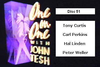 ONE ON ONE WITH JOHN TESH - DISC 51 (1991-92 NBC Daytime) - Rewatch Classic TV - 1