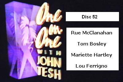 ONE ON ONE WITH JOHN TESH - DISC 52 (1991-92 NBC Daytime) - Rewatch Classic TV - 1