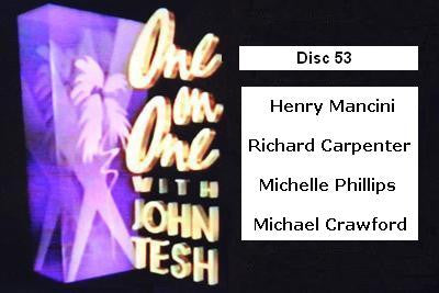 ONE ON ONE WITH JOHN TESH - DISC 53 (1991-92 NBC Daytime) - Rewatch Classic TV - 1