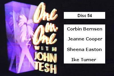 ONE ON ONE WITH JOHN TESH - DISC 54 (1991-92 NBC Daytime) - Rewatch Classic TV - 1