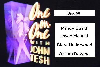 ONE ON ONE WITH JOHN TESH - DISC 56 (1991-92 NBC Daytime) - Rewatch Classic TV - 1