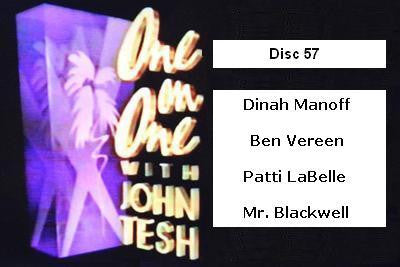 ONE ON ONE WITH JOHN TESH - DISC 57 (1991-92 NBC Daytime) - Rewatch Classic TV - 1