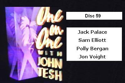 ONE ON ONE WITH JOHN TESH - DISC 59 (1991-92 NBC Daytime) - Rewatch Classic TV - 1