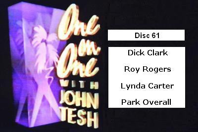 ONE ON ONE WITH JOHN TESH - DISC 61 (1991-92 NBC Daytime) - Rewatch Classic TV - 1