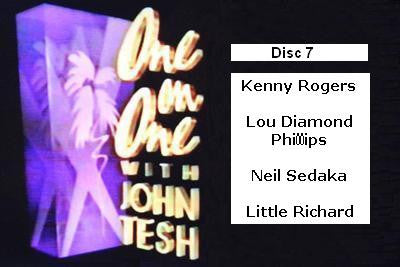 ONE ON ONE WITH JOHN TESH - DISC 7 (1991-92 NBC Daytime) - Rewatch Classic TV - 1