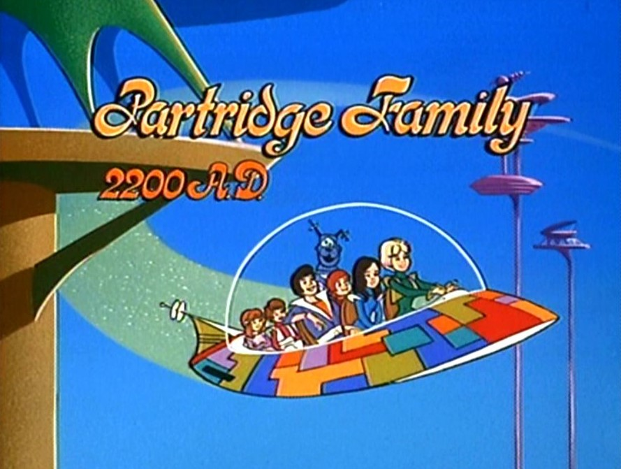 PARTRIDGE FAMILY 2200 A.D. - THE ANIMATED SERIES (CBS 1974-75) RARE!