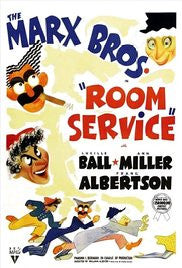 ROOM SERVICE – COLORIZED EDITION – Marx Brothers/Lucille Ball (1938)