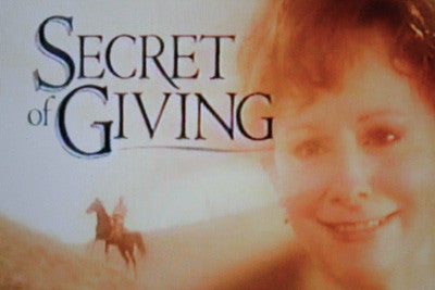 SECRET OF GIVING - Reba McEntire stars as a young widow in the early 1900s struggling to save her Oregon ranch and care for her five-year-old son (Devon Alan) who has suddenly became ill. In the hardest of times, the gift of faith rescues her spirit...and the kindness of a stranger (Thomas Ian Griffith) opens her heart. Additional cast: Ronny Cox, Philip Granger. Available from RewatchClassicTV.com