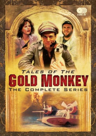 TALES OF THE GOLD MONKEY - COMPLETE SERIES 6-DISC SET (ABC 1983)