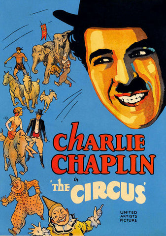 THE CIRCUS - CHARLIE CHAPLIN (MP 1928)