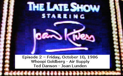 LATE SHOW STARRING JOAN RIVERS - EPISODE 2 (FOX 10/10/86) - Rewatch Classic TV