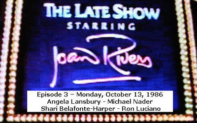 LATE SHOW STARRING JOAN RIVERS - EPISODE 3 (FOX 10/13/86) - Rewatch Classic TV