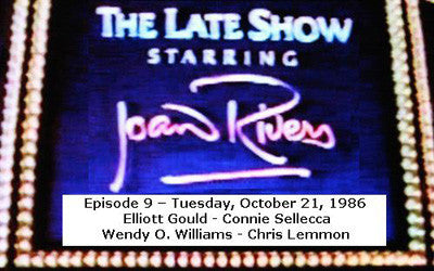 LATE SHOW STARRING JOAN RIVERS - EPISODE 9 (FOX 10/21/86) - Rewatch Classic TV