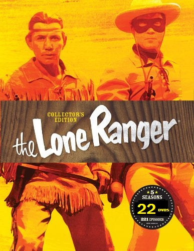 THE LONE RANGER - THE COMPLETE REMASTERED SERIES (ABC 1949-57)