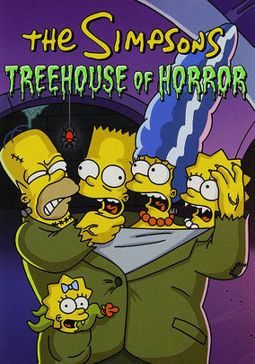 THE SIMPSONS - TREEHOUSE OF HORROR (18 EPISODE MEGA SET)