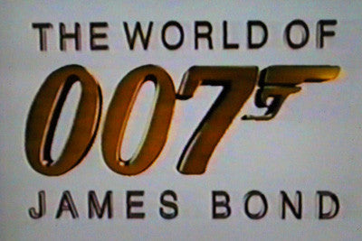 WORLD OF 007 JAMES BOND (FOX 10/29/95) - Rewatch Classic TV - 2