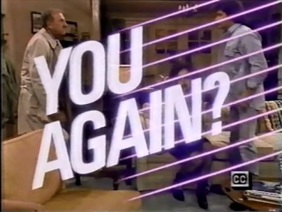 YOU AGAIN? (NBC 10/15/86) RARE!!!
