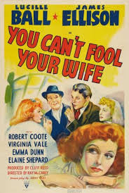 YOU CAN'T FOOL YOUR WIFE (1940) (HI-DEFINITION) - Rewatch Classic TV - 1