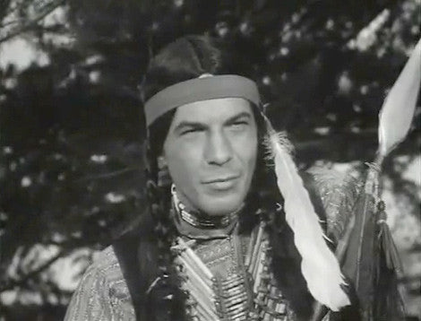 "Actor Leonard Nimoy in the episode ""Commanche Scalps"" from the TV western ""Tate"" - 1960"