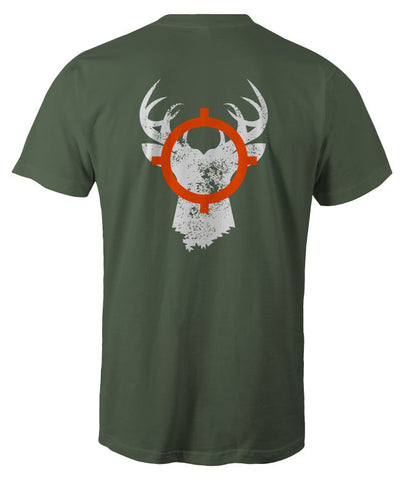 In Season Buck Shirt - Military Green