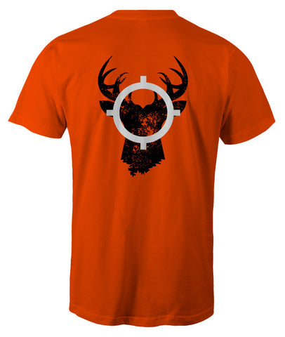 In Season Buck Deer Shirt - Safety Orange