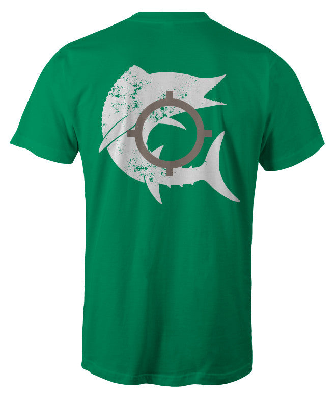 In Season Wahoo Shirt - Green