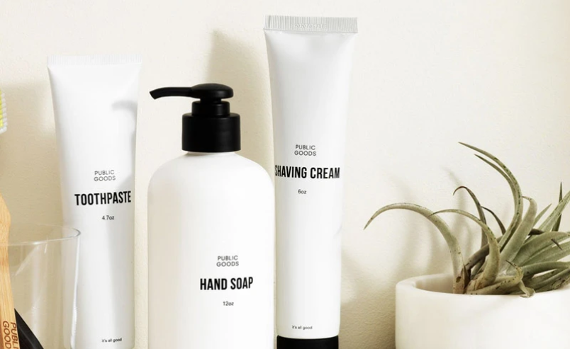 Public Goods personal care products