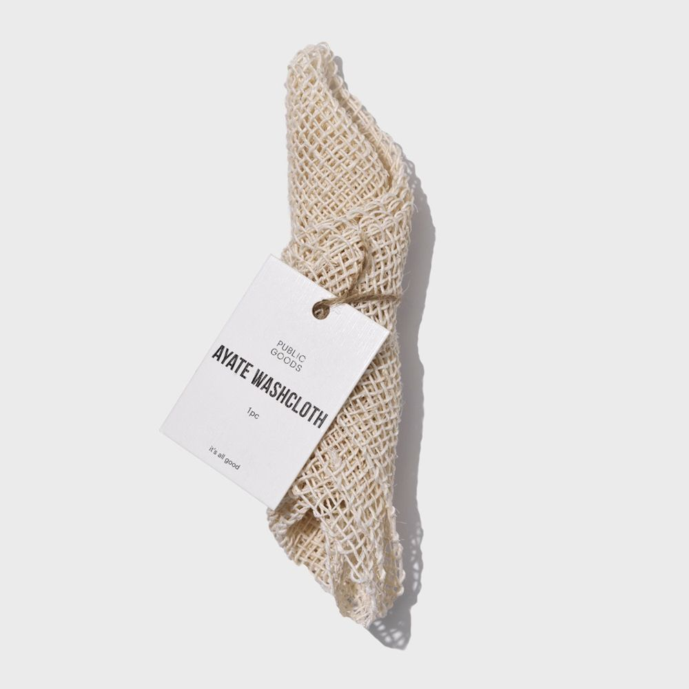 Public Goods Personal Care Ayate Washcloth