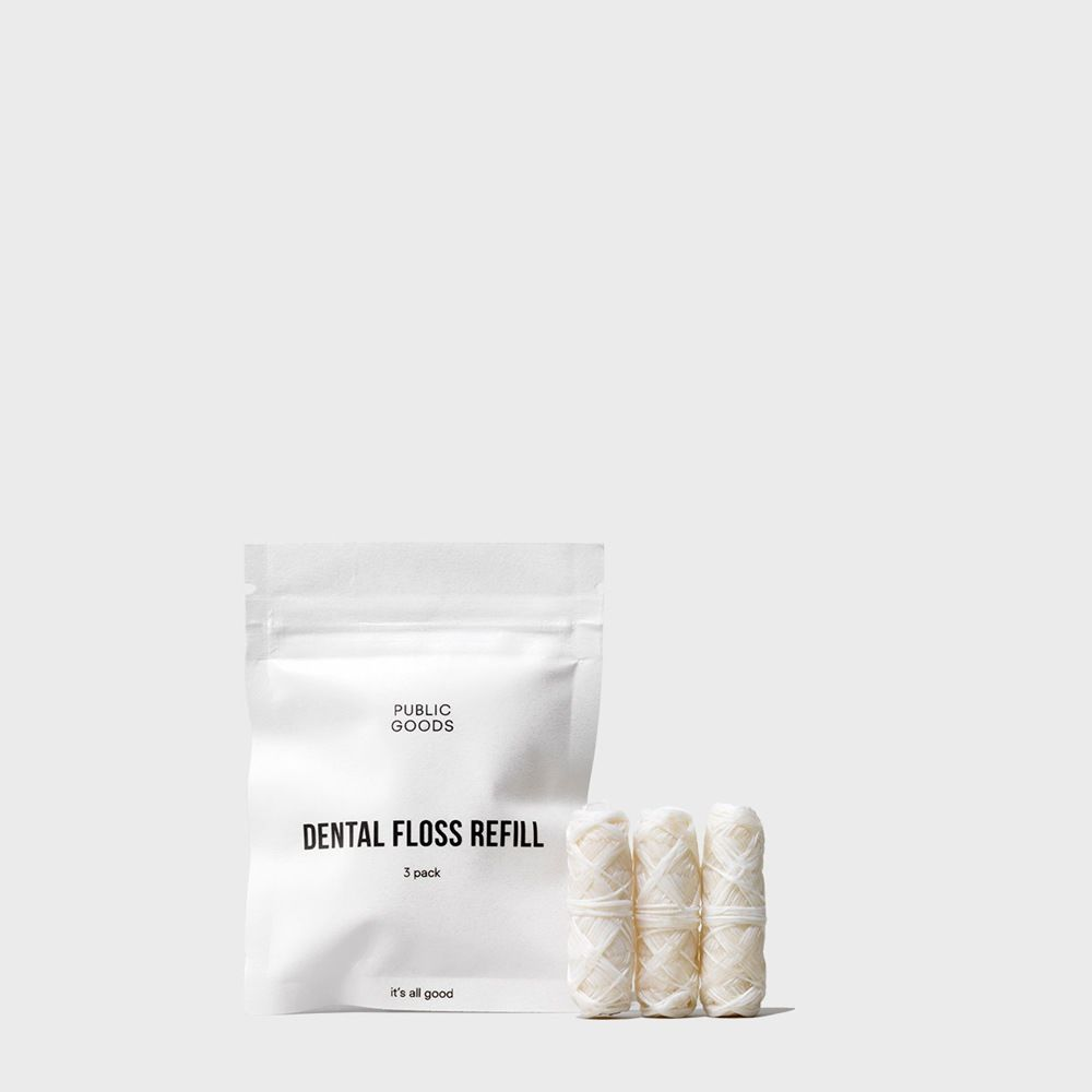 Public Goods Personal Care Dental Floss Refills