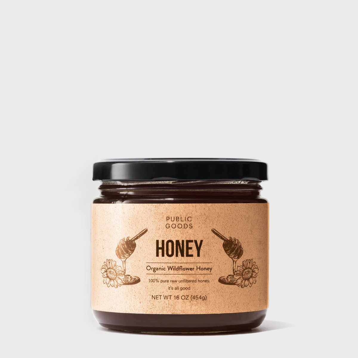 Wildflower Honey 16 oz (Case of 12)