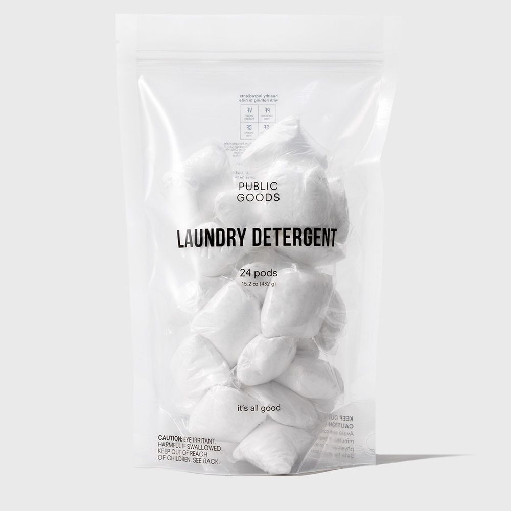 bag of public goods laundry detergent pods