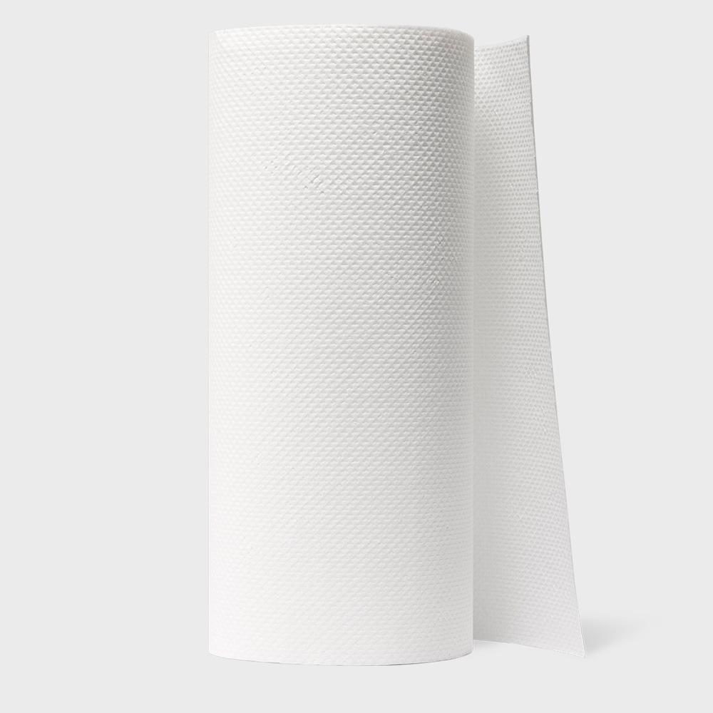 one roll of recycled paper towels