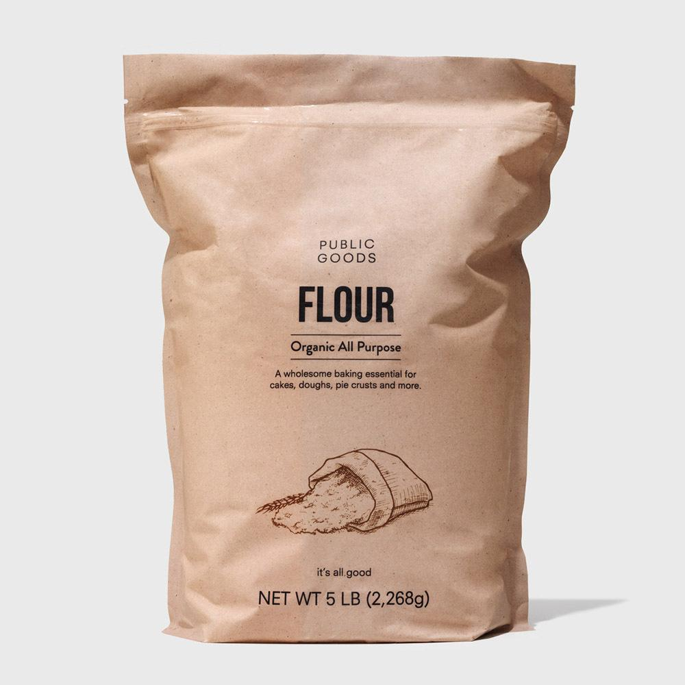 bag of organic all purpose flour