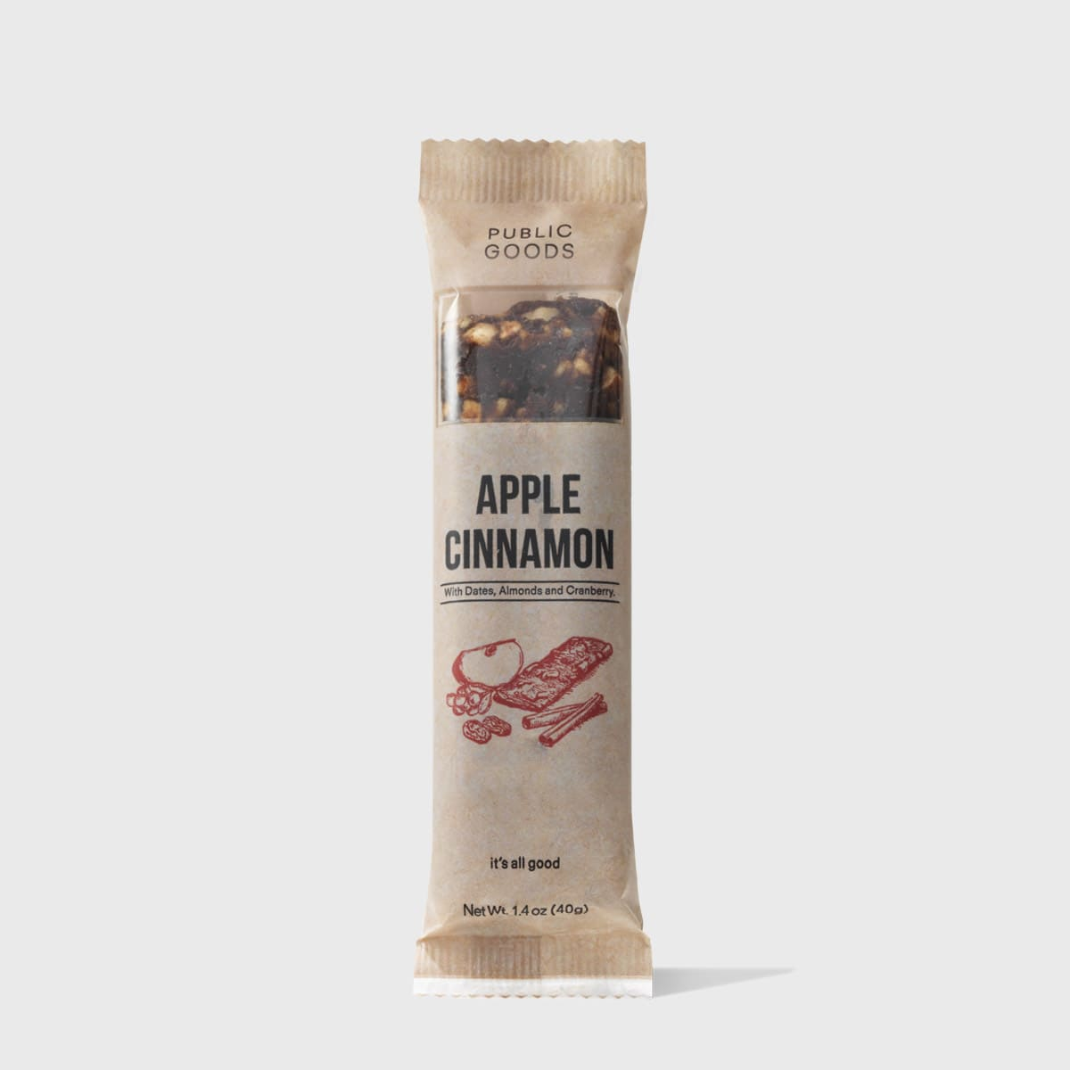 Apple Cinnamon Snack Bar
