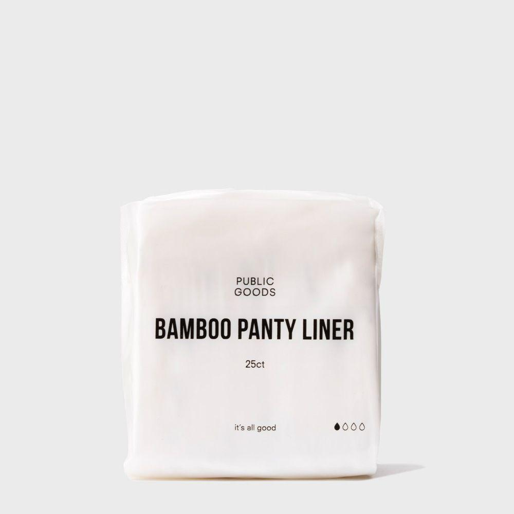 25 pack of bamboo panty liners