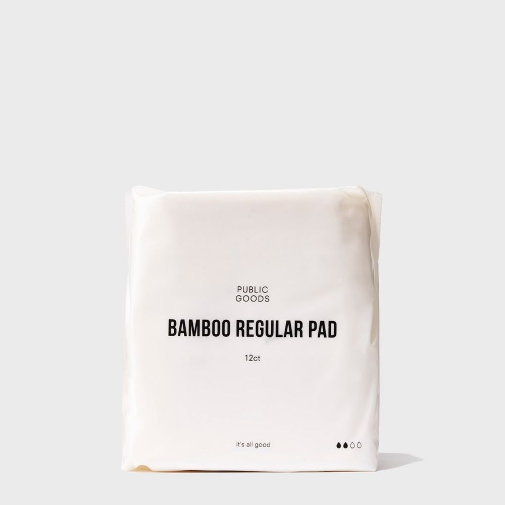 Public Goods Personal Care Bamboo Regular Maxi Pads