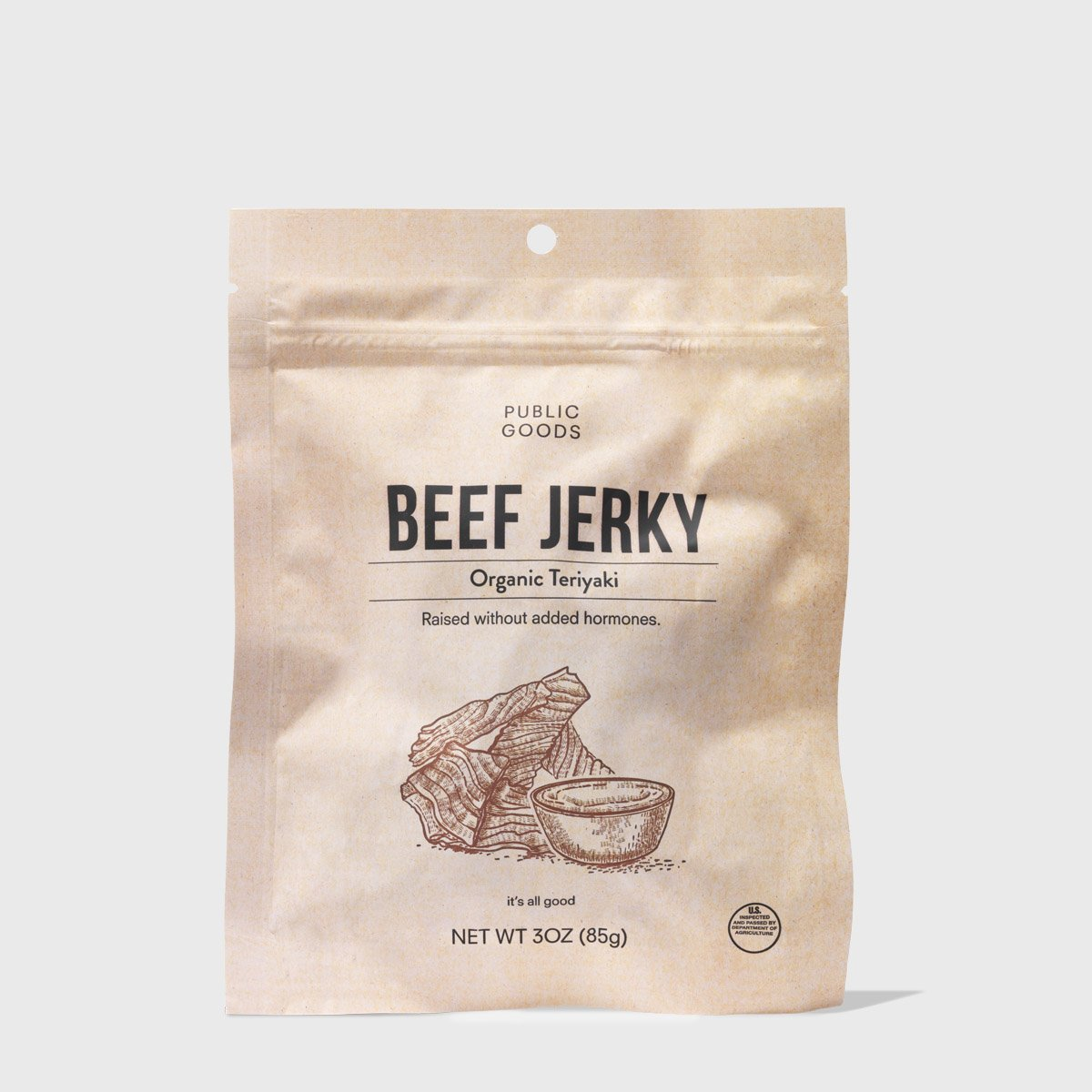 Teriyaki Jerky 3 oz (Case of 12)