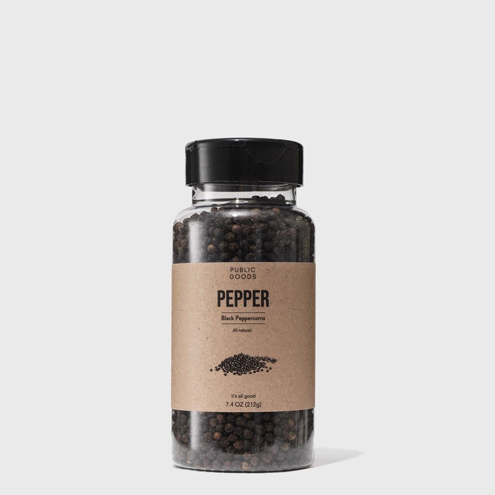 Public Goods Grocery Black Pepper