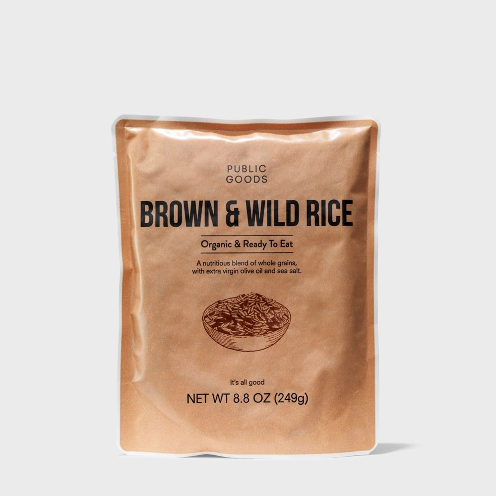 Public Goods Grocery Brown & Wild Rice